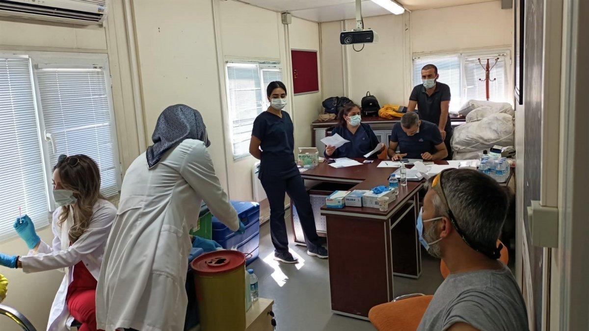 Erzincan'da yerinde aşı dönemi