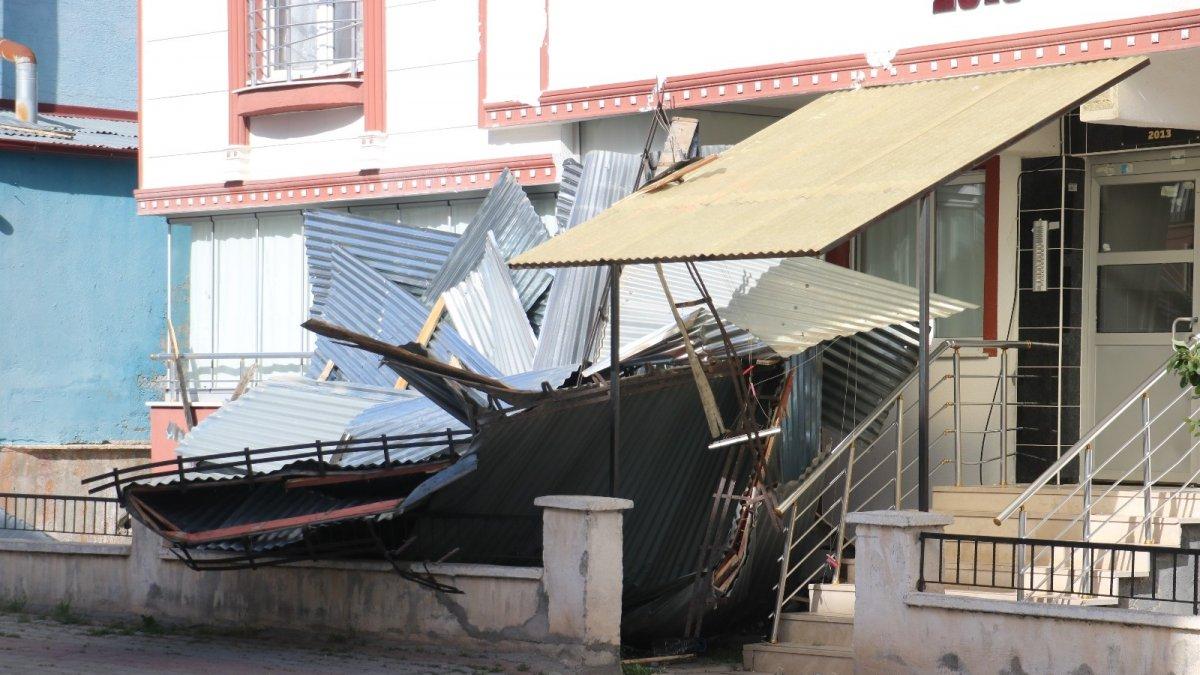 Erzincan için kuvvetli rüzgar ve fırtına uyarısı