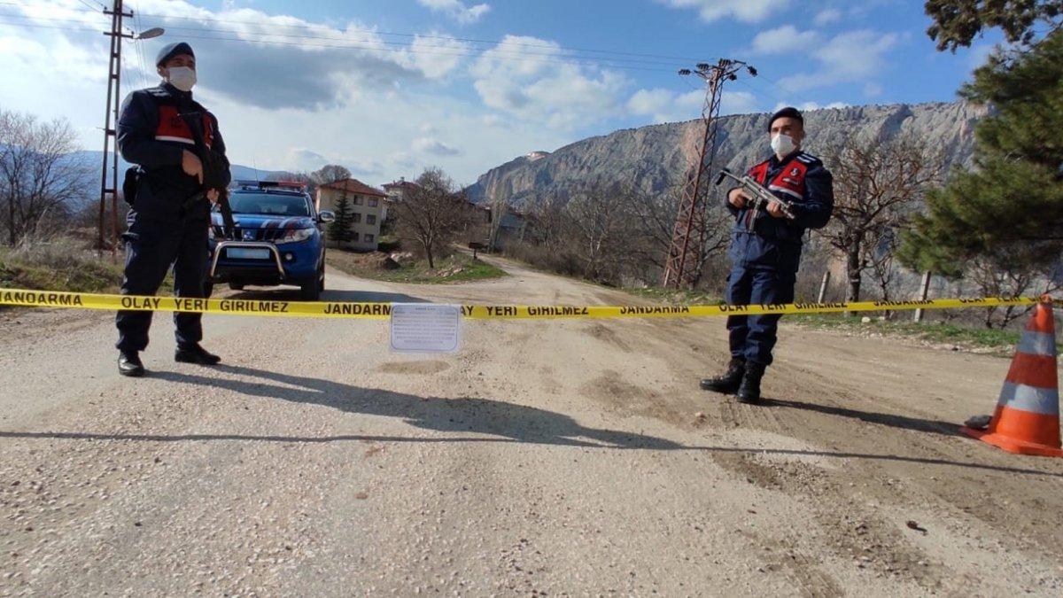 Erzincan'ın İliç ilçesinde mezra karantinaya alındı