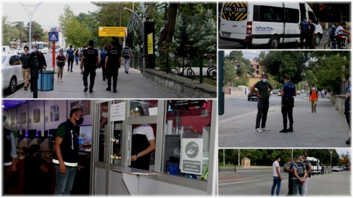 Erzincan polisinden 'Güvenli Eğitim Uygulaması'