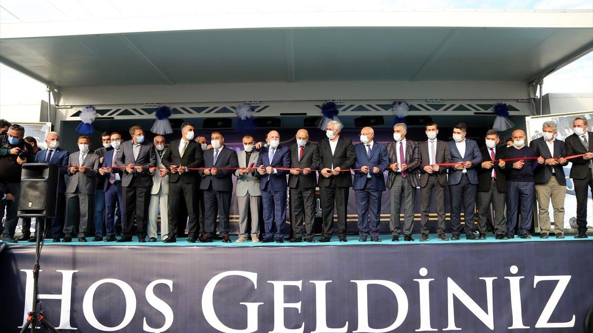 Erzurum'da kentsel dönüşümle yapılan 279 konut ve dükkan hak sahiplerine verildi