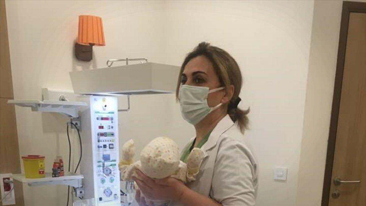 """Erzurum Şehir Hastanesinde dünyaya gelen ilk bebeğin adı """"Yiğit Ali"""" oldu"""
