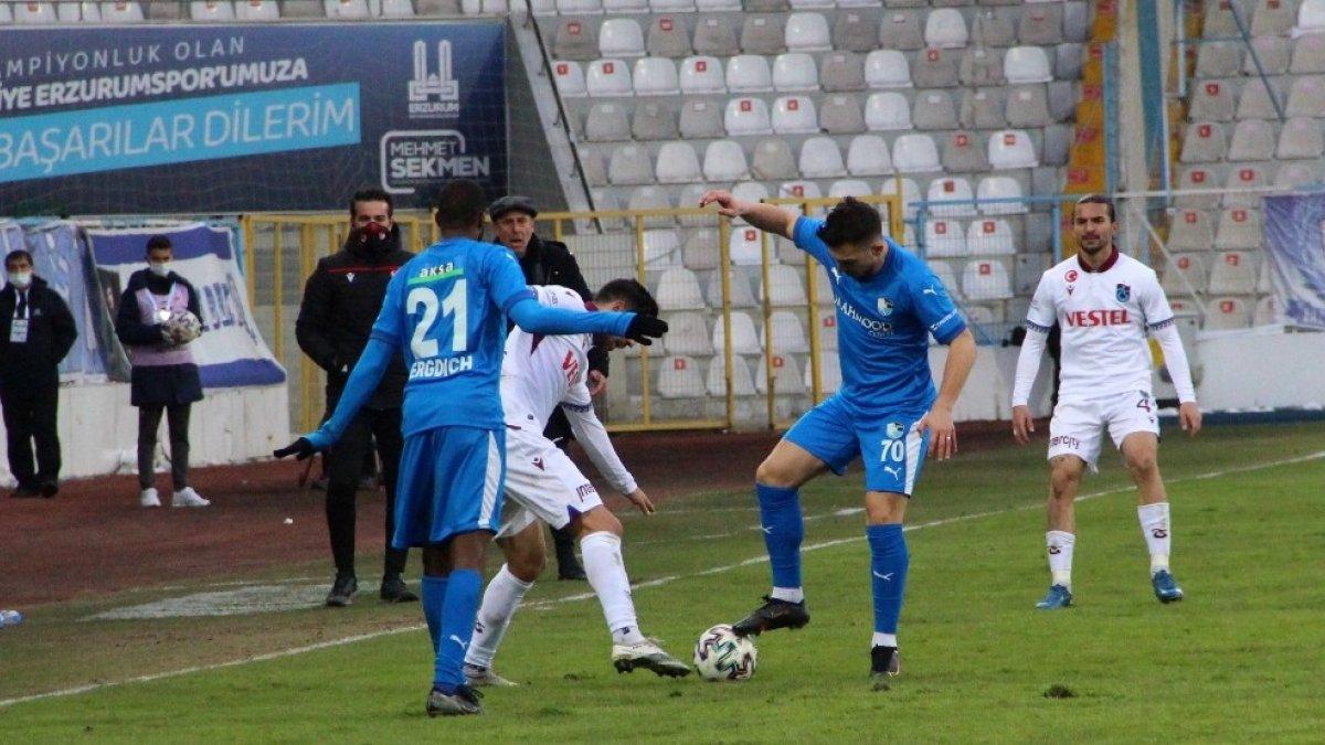 Erzurumspor galibiyete hasret kaldı