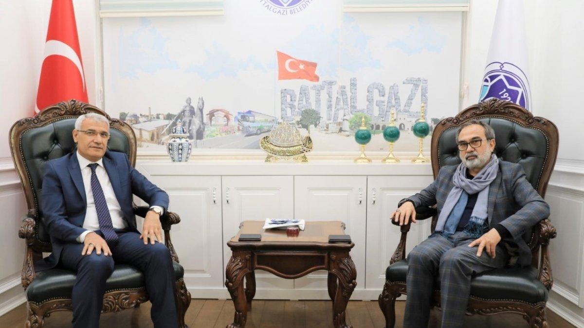Garip'ten Belediye Başkanı Güder'e ziyaret
