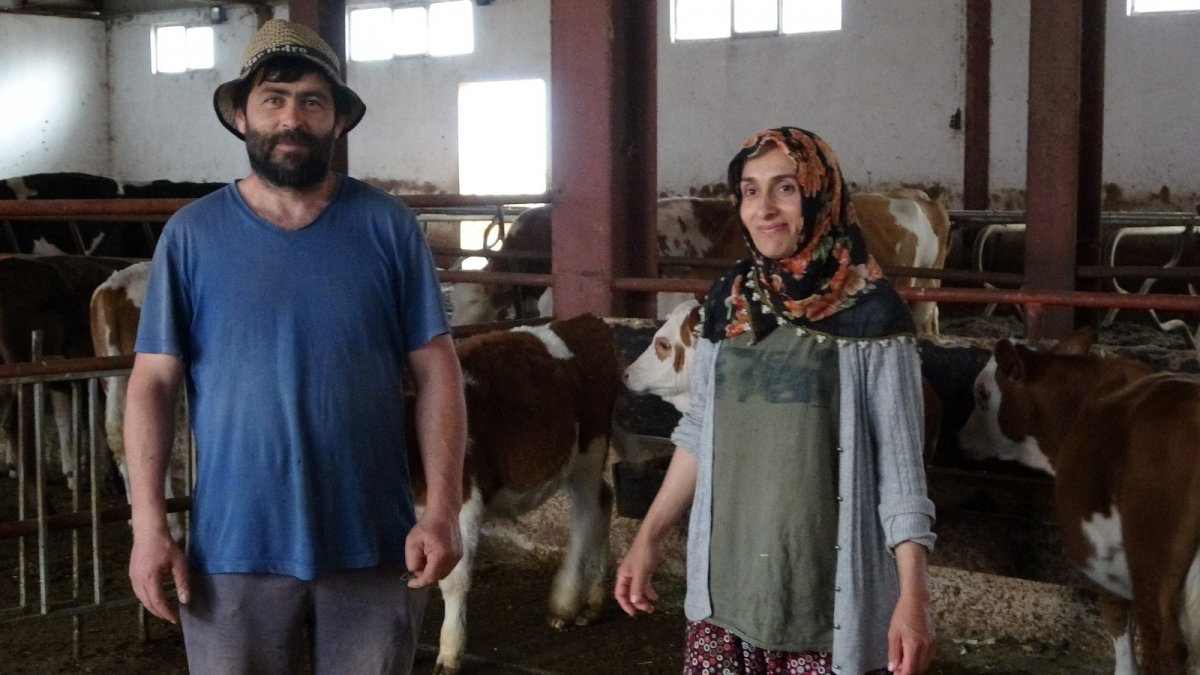 Genç çiftin hayali devlet desteğiyle gerçekleşti