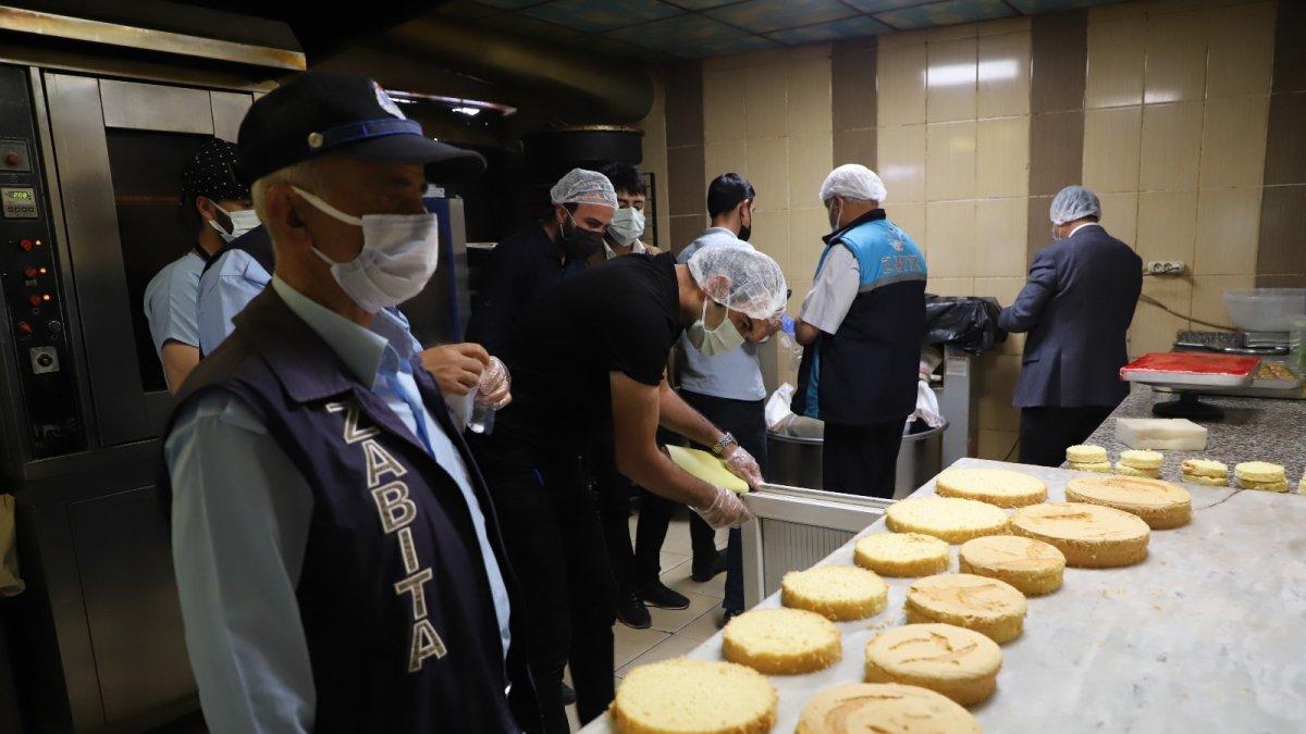Hakkari'de tatlıcılık sektörü mercek altına alındı