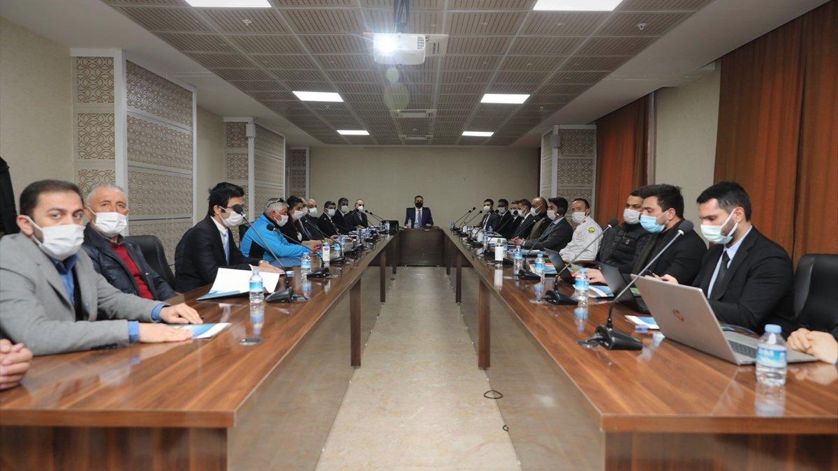 """Hakkari'de """"Turizm ve tanıtım stratejisi"""" toplantısı yapıldı"""