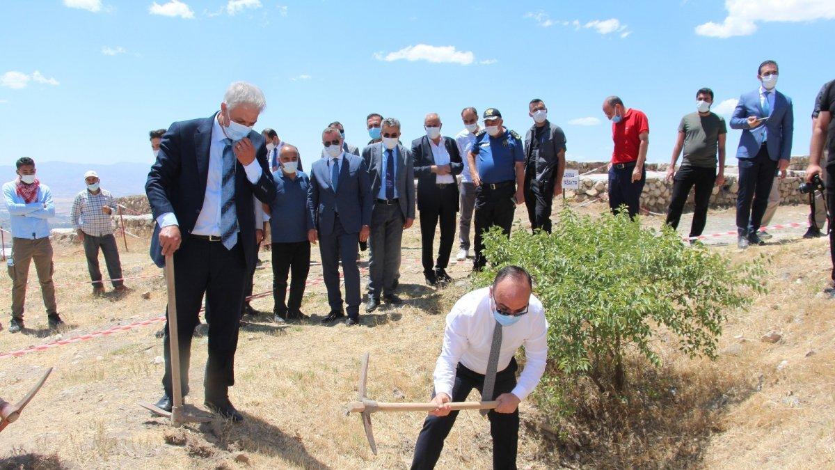 Harput kalesinde 2021 kazı çalışmaları başladı