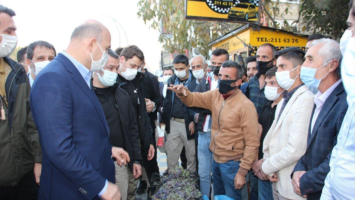 İçişleri Bakanı Süleyman Soylu, Hakkari'de konuştu: (2)