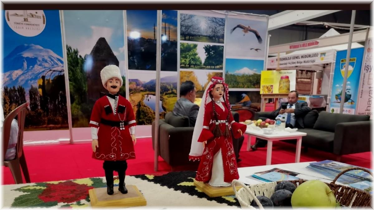 Iğdır, 11. Doğu Anadolu Uluslararası Turizm ve Seyahat Fuarında tanıtıldı