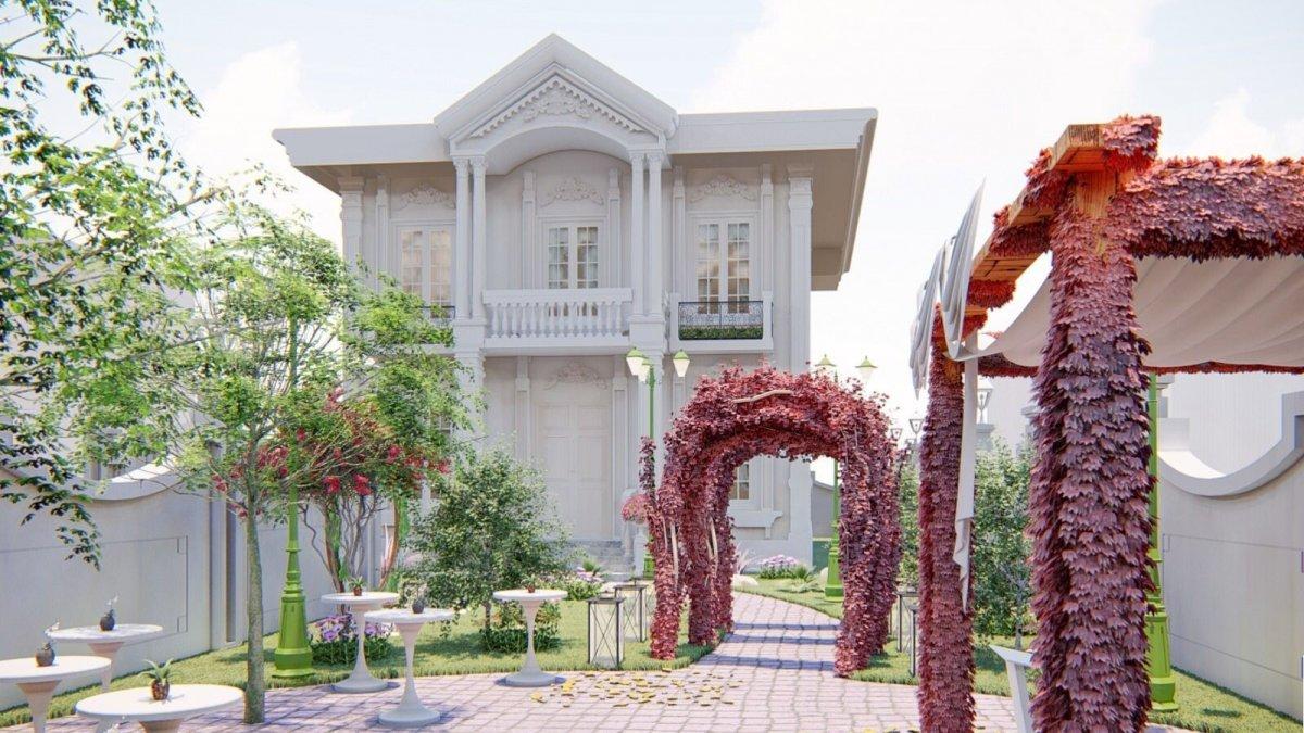 İpekyolu Belediyesinden evlendirme köşkü