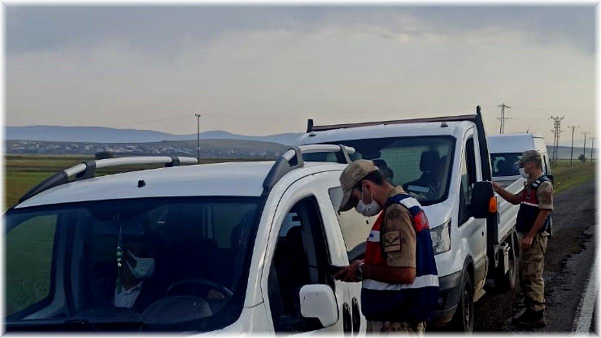 Jandarma'dan Covid-19 denetimi