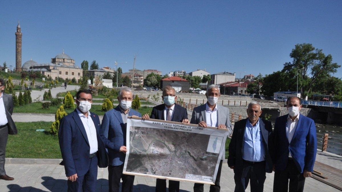Kars Çayı arıtma tesisiyle temiz akacak - Kars Haberleri