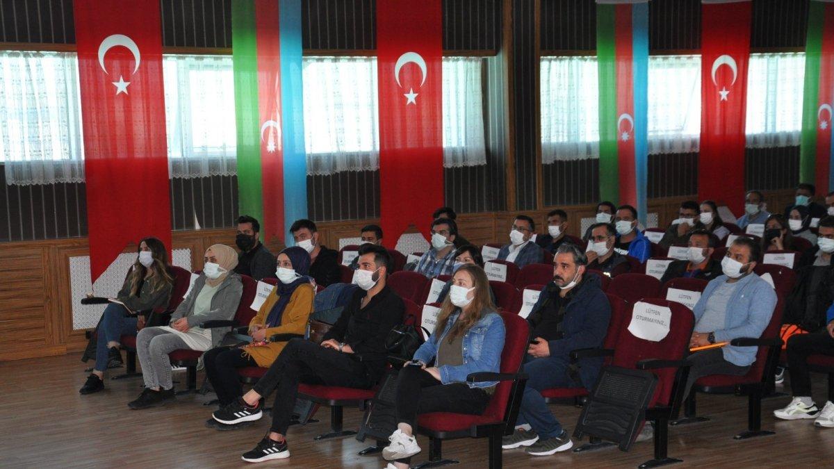 Kars'ta Afet farkındalık eğitimleri sürüyor