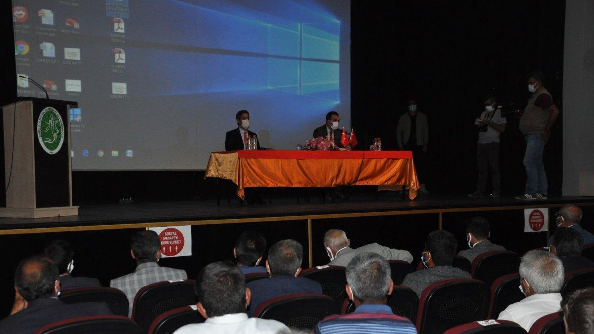 Kars'ta KÖYDES toplantısı yapıldı
