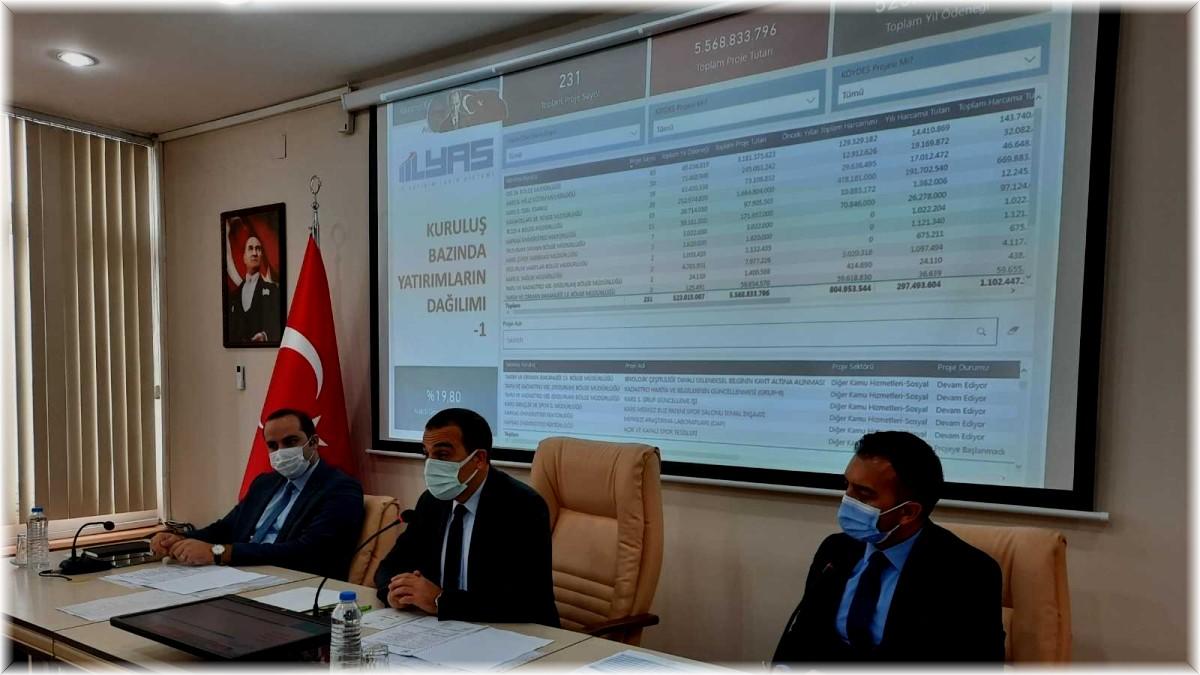 Kars'ta yılın son koordinasyon kurulu toplantısı yapıldı