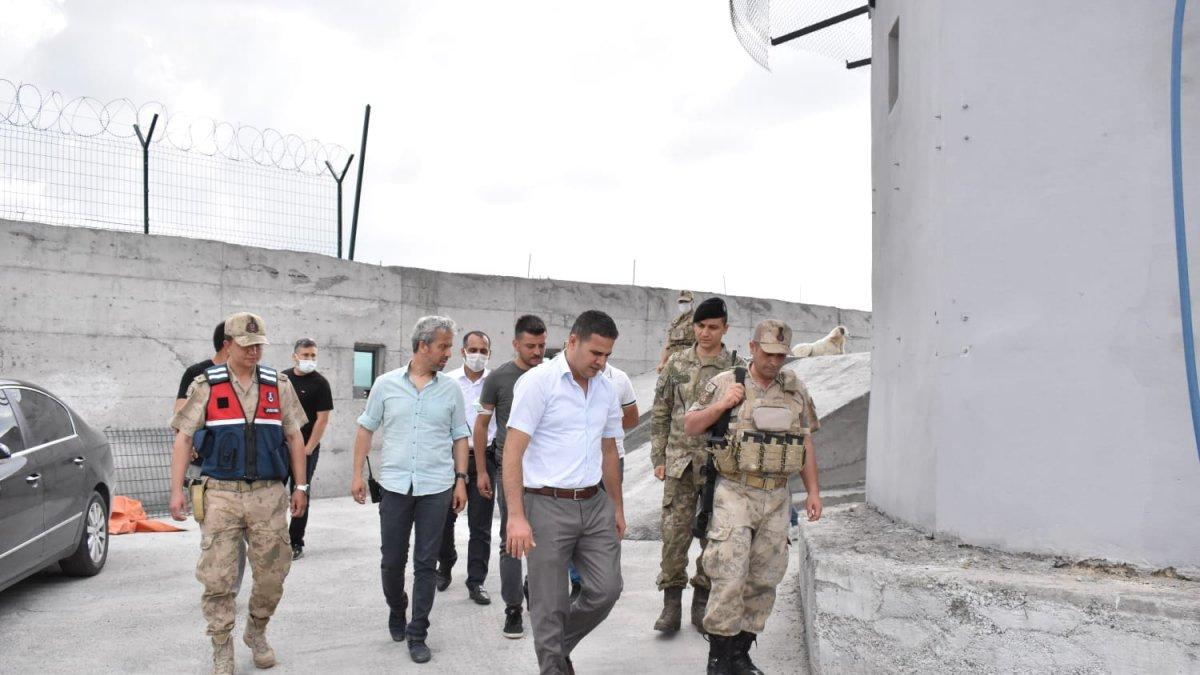 Kaymakam Akpınar, Şehit Aileleri, Asker ve Polislerle Bayramlaştı