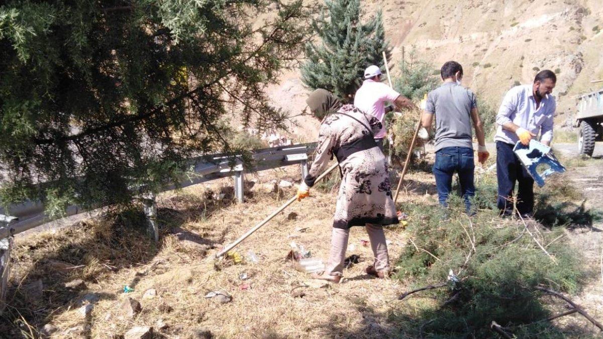 Keban Belediye Başkanı Atlı'dan çevre kirliliğine karşı duyarlılık çağrısı