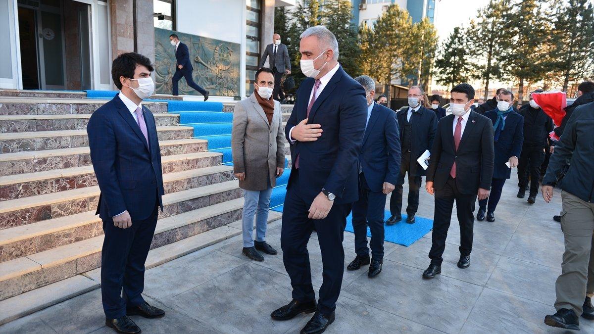Kültür ve Turizm Bakanı Ersoy, Tunceli Valiliği ile cemevini ziyaret etti