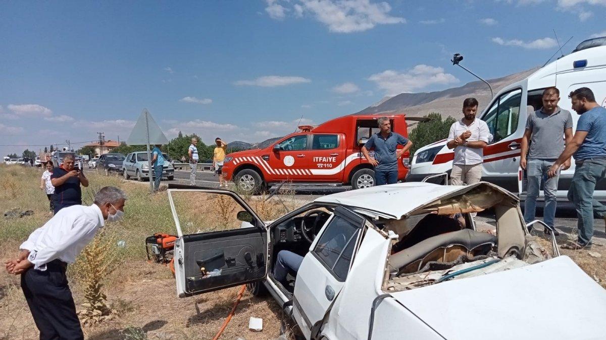 Malatya'da bayram tatili kaza bilançosu: 3 ölü, 71 yaralı