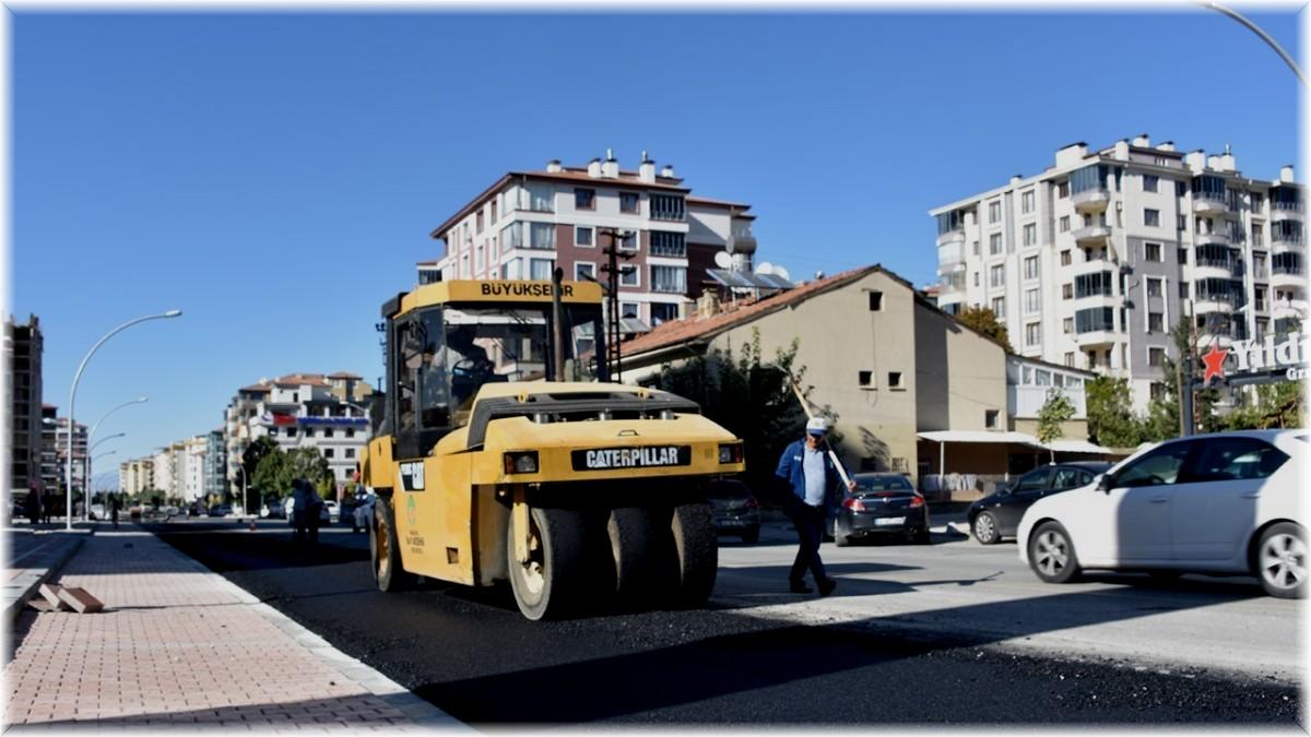 Malatya'da Güngör Caddesi 9'dan 14 metreye çıkarıldı