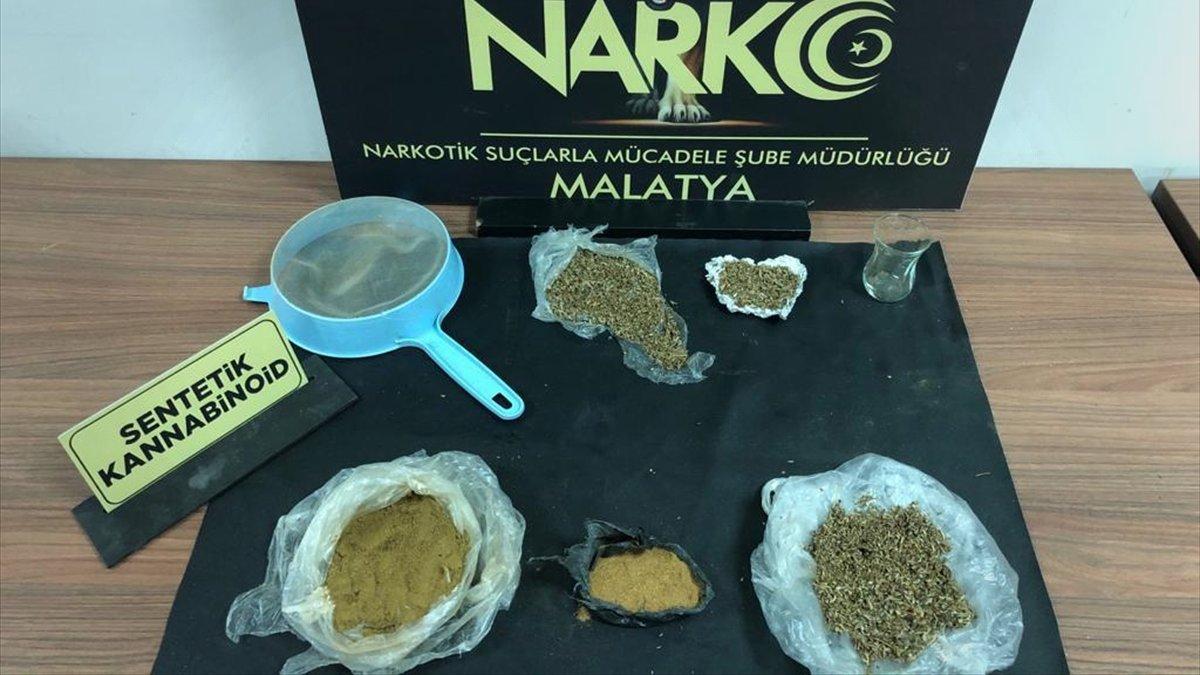 Malatya'da uyuşturucu operasyonunda 4 tutuklama