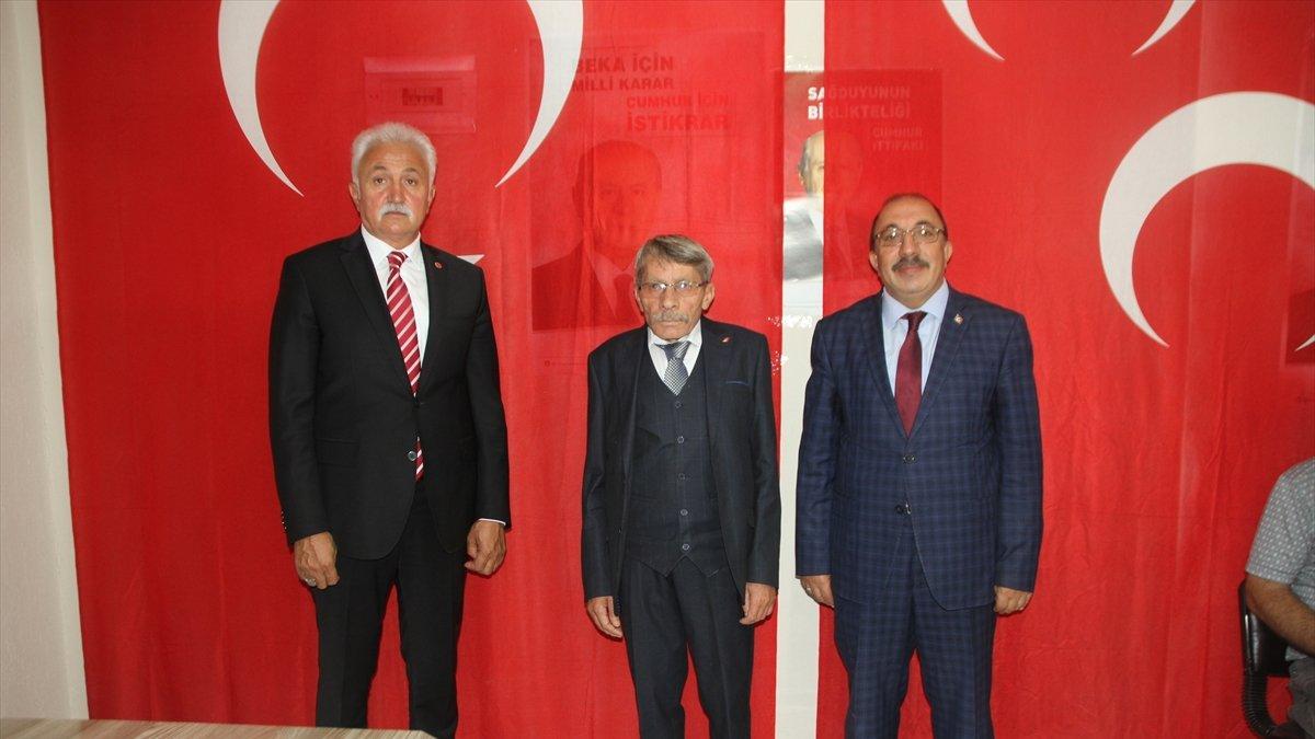 MHP Malazgirt İlçe Başkanı Haluk Zeki Öğreten güven tazeledi