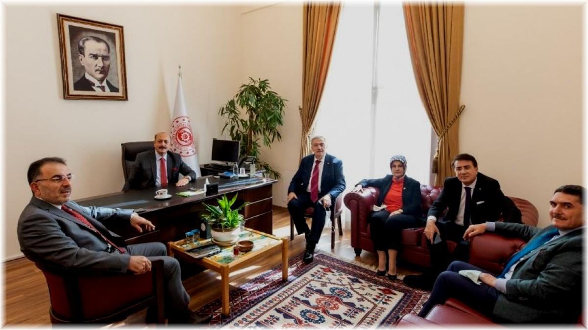 Milletvekili Aydemir, Bakan Bilgin'e talepleri iletti