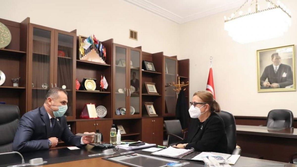 Milletvekili Çakır'dan Ticaret Bakanı Pekcan'a ziyaret
