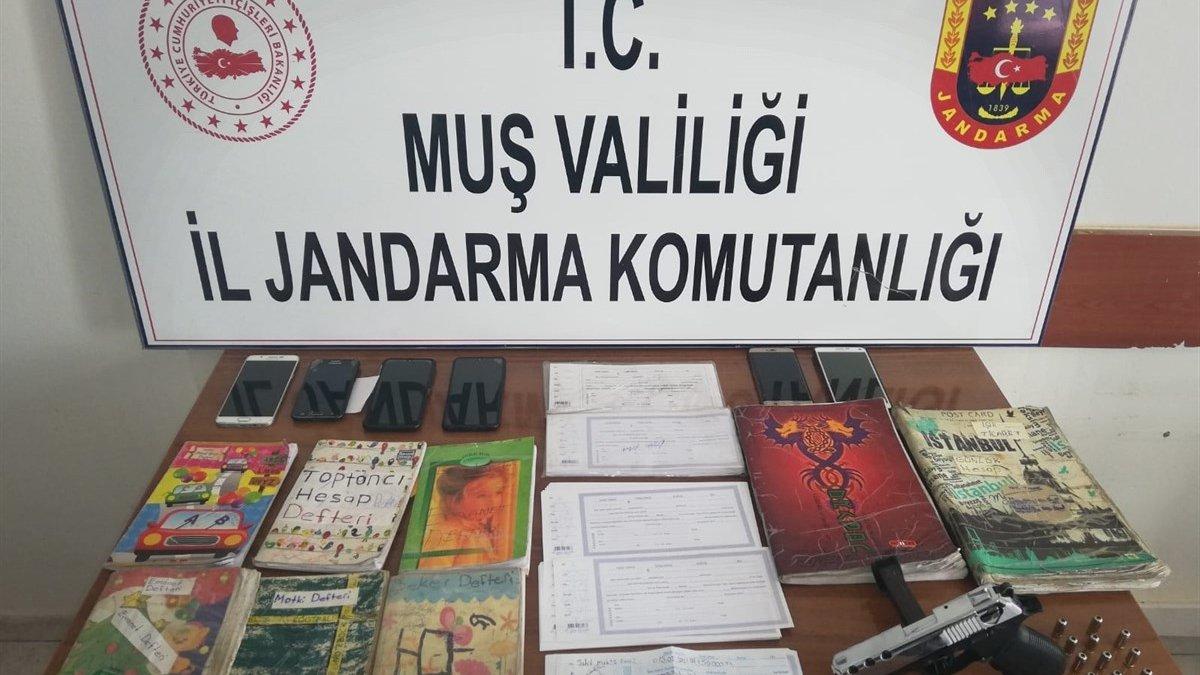 Muş ve İstanbul'da tefecilik operasyonunda 7 şüpheli hakkında adli işlem yapıldı