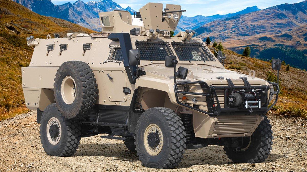 """Otokar, COBRA II ürün ailesini """"COBRA II MRAP (Mayına Karşı Korumalı Araç)"""" ile genişletti"""
