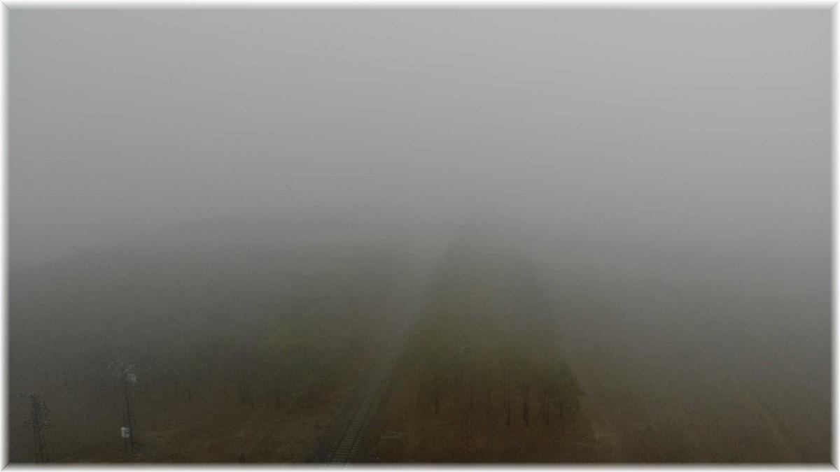 (Özel) Kars'ta yoğun sis