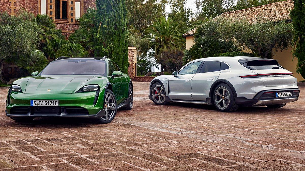 Porsche, elektrikli otomobil konseptini yeni bir boyuta taşıdı: Taycan Cross Turismo