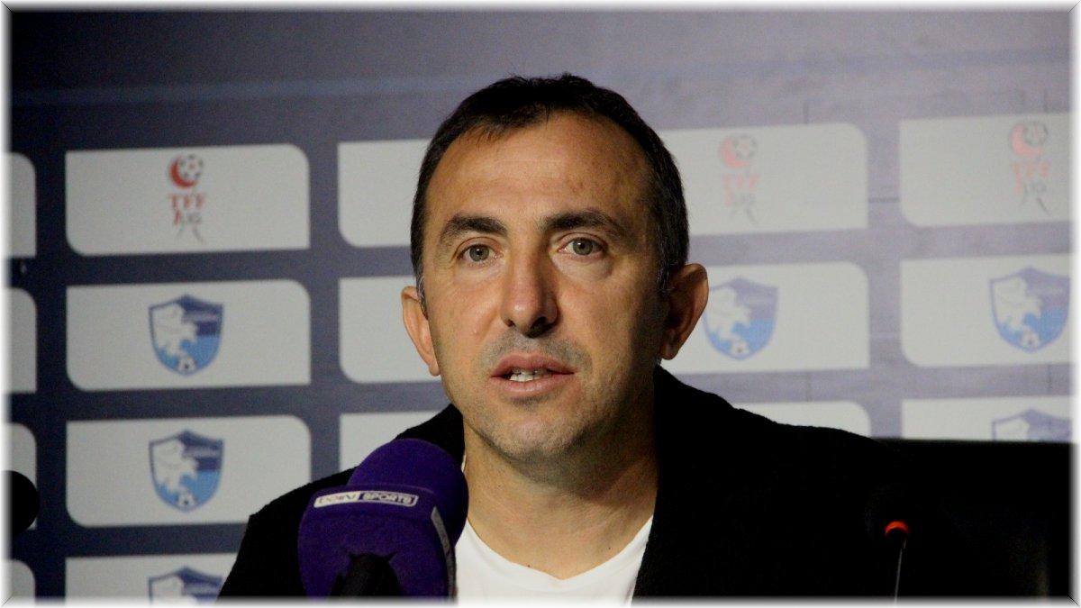 """Recep Uçar: """"Bu ligin en zor deplasmanından 3 puan aldık"""""""