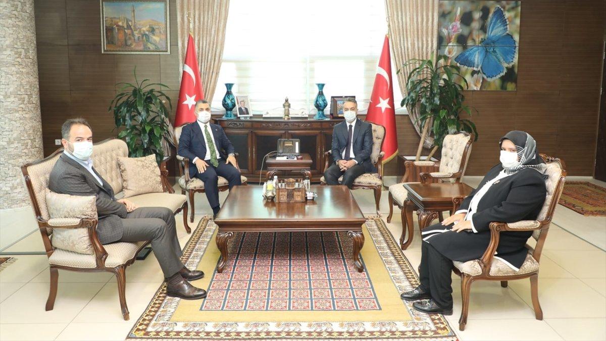 RTÜK Başkanı Şahin Bitlis Valisi Oktay Çağatay'ı ziyaret etti