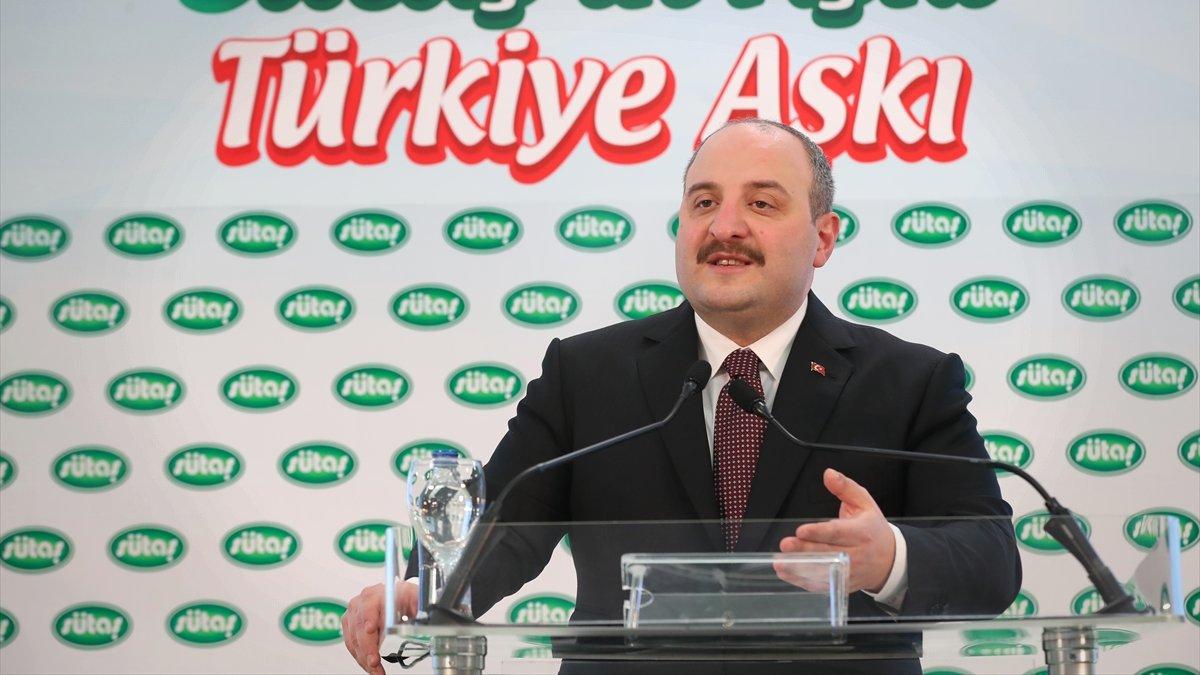 """Sanayi ve Teknoloji Bakanı Varank, """"SÜTAŞ Bingöl Hayvancılık Entegre Tesisi Etki Analizi Lansmanı""""nda konuştu:"""