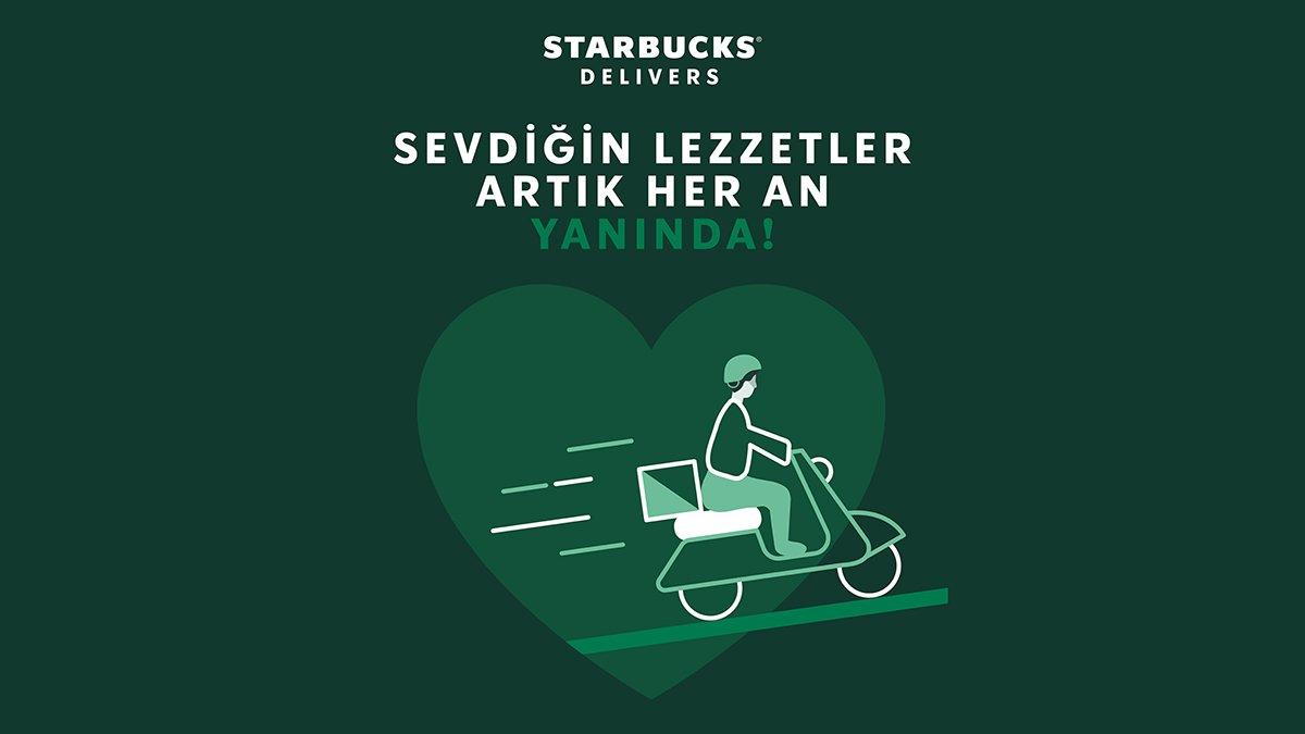 Starbucks lezzetleri sen neredeysen orada!
