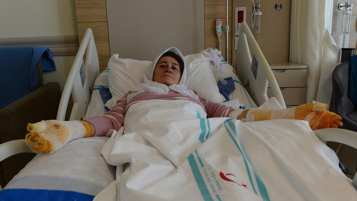 Tandıra düşerek yaralanan Muşlu kadın kazalara karşı uyardı