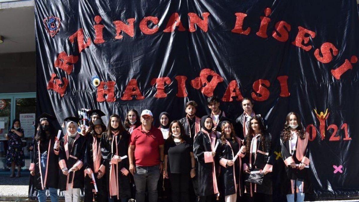 Tarihi Erzincan Lisesi 113. mezunlarını coşkuyla uğurladı - Erzincan Haberleri