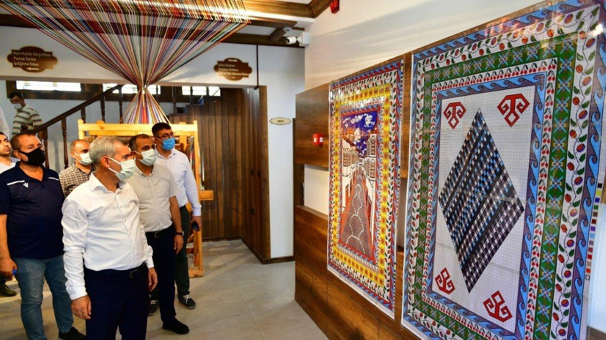Tarihi Yeşilyurt Konakları kapılarını misafirlerine açmaya hazırlanıyor