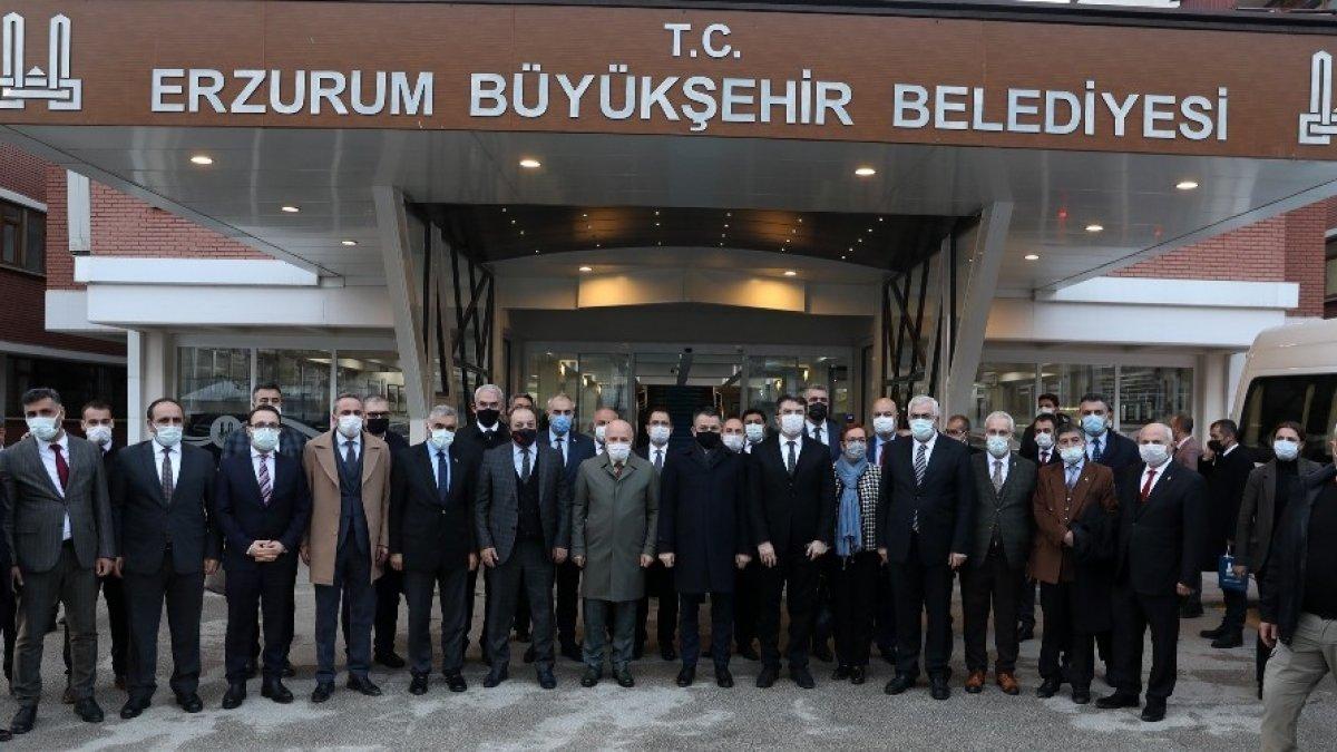 Tarım ve Orman Bakanı Dr. Pakdemirli'den Büyükşehir'e ziyaret