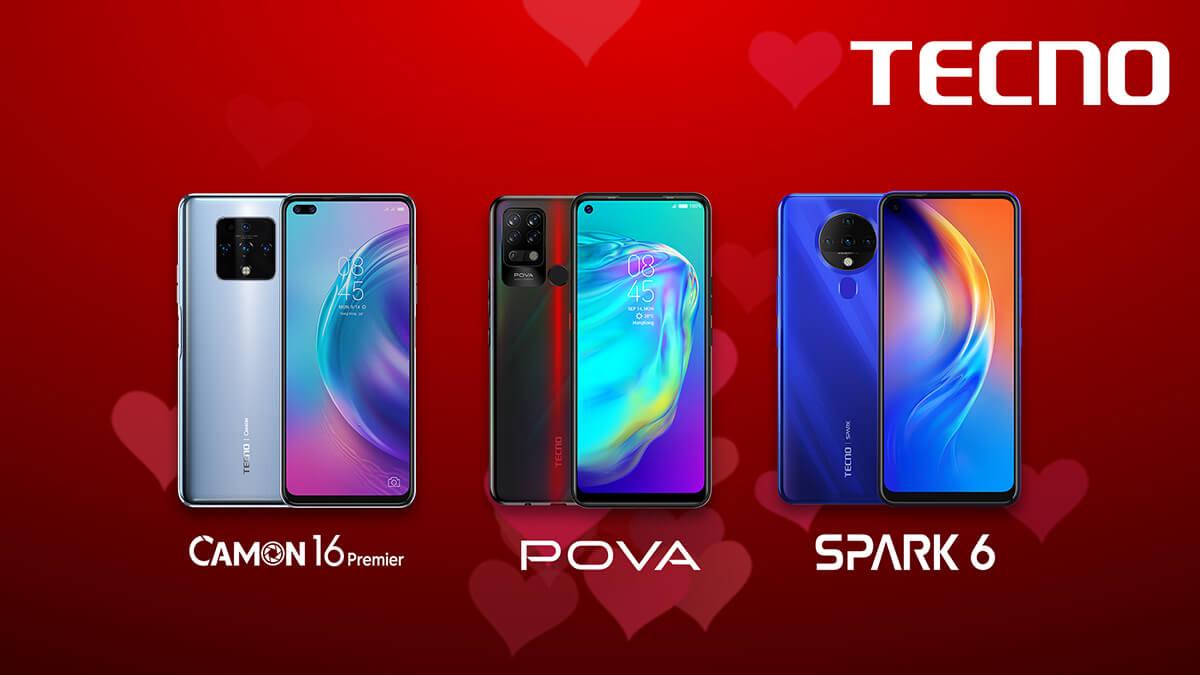 TECNO Mobile ile sevdiğiniz her zaman yanınızda