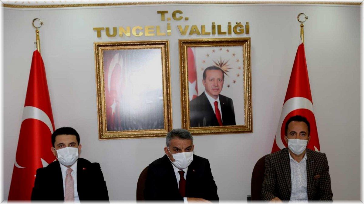 Tunceli'de üniversite güvenlik ve koordinasyon toplantısı gerçekleştirildi