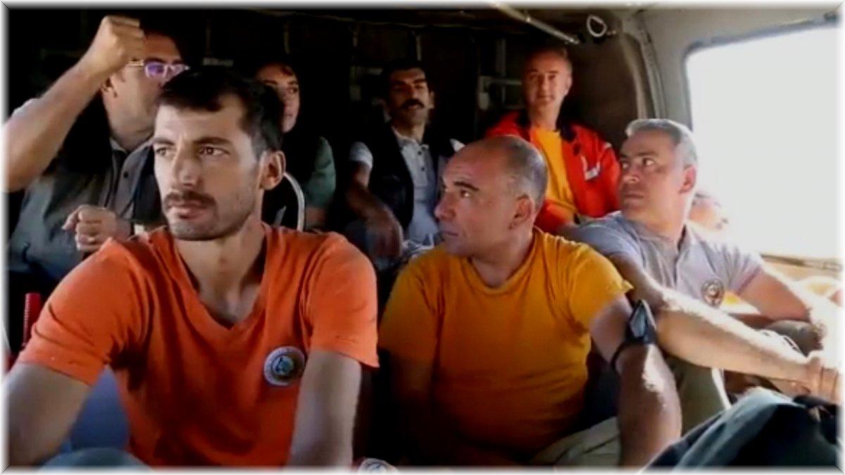 Tunceli'nin Sevdin Tepesi'nde soğutma çalışmaları tamamlandı