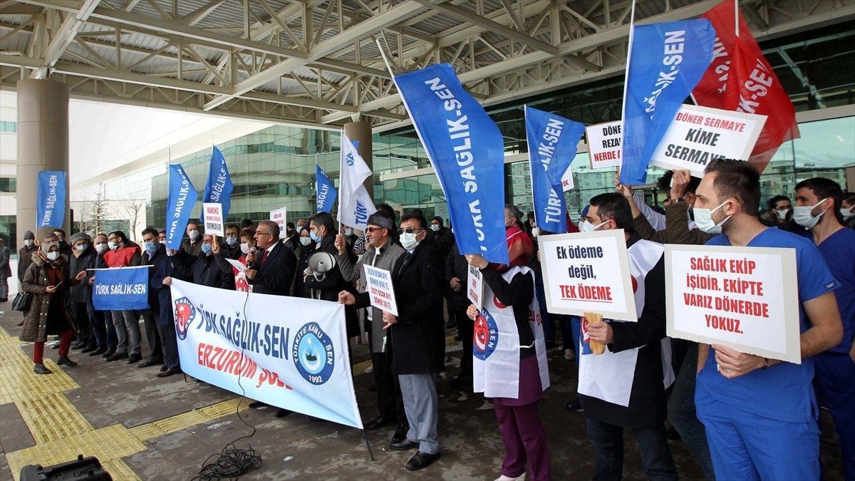Türk Sağlık-Sen'den döner sermaye açıklaması: