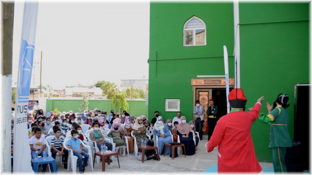 Tuşba Belediyesi'nden yaz Kur'an kursu öğrencilerine yönelik etkinlik