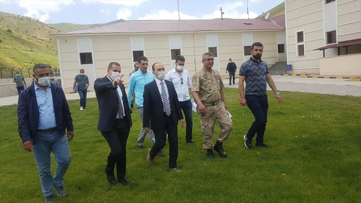 Vali Yardımcısı Atar, Gevaş'ta incelemelerde bulundu