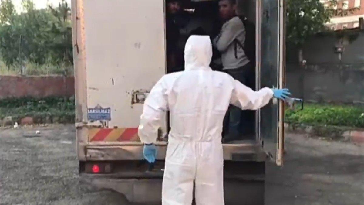 Van'da 87 düzensiz göçmen yakalandı