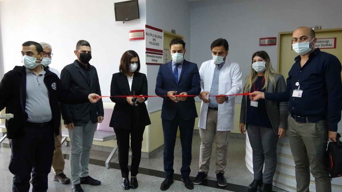 Van'da kas ve sinir hastalıkları için yeni poliklinik açılışı