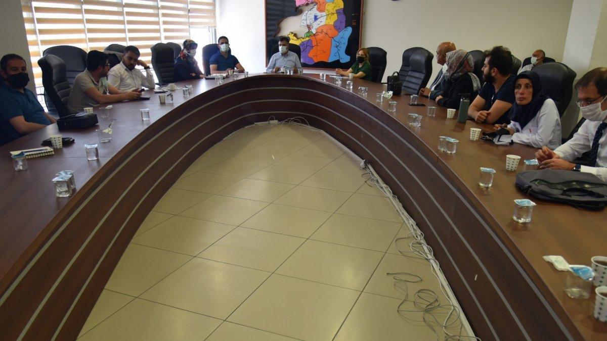 Van'da korona virüs konulu değerlendirme toplantısı